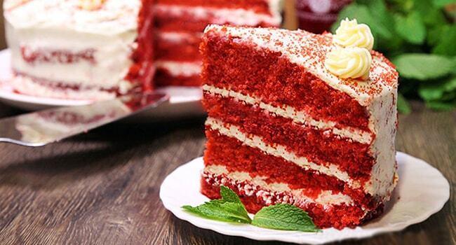 """Торт """"Красный бархат"""": лучший пошаговый рецепт с фото и видео"""