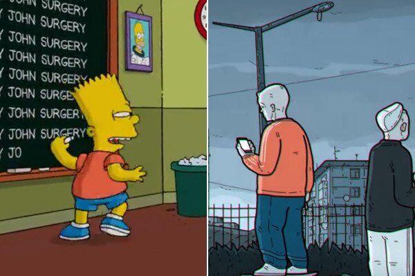 Барт - сравнение