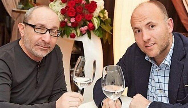 Геннадий Кернес и Павел Фукс. Их объединяет совместное криминальное прошлое в Харькове, многолетняя дружба и бизнес