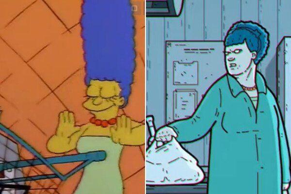 Мардж - сравнение