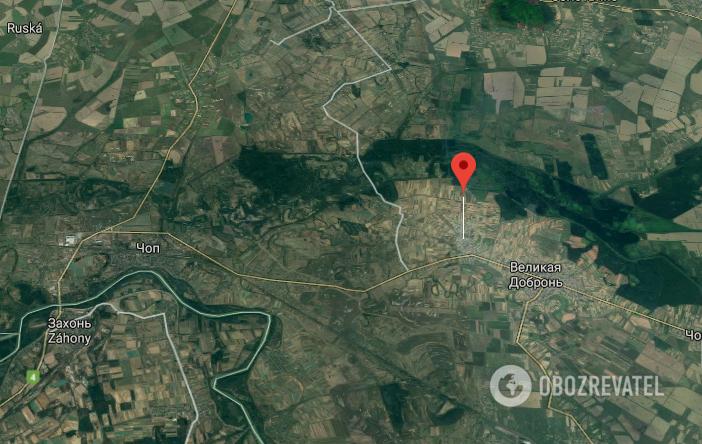 ДТП произошло в с. Малая Добронь