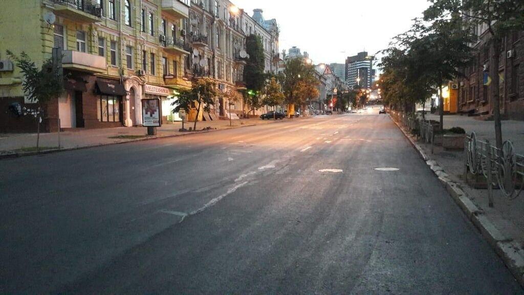 Ремонт улицы Петлюры подходит к концу – КГГА