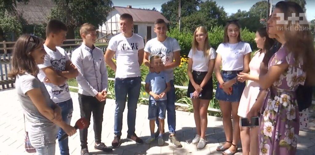 Волынские школьники