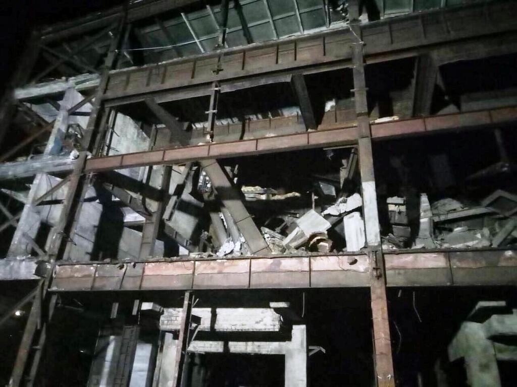 Здание обвалилось 8 июля