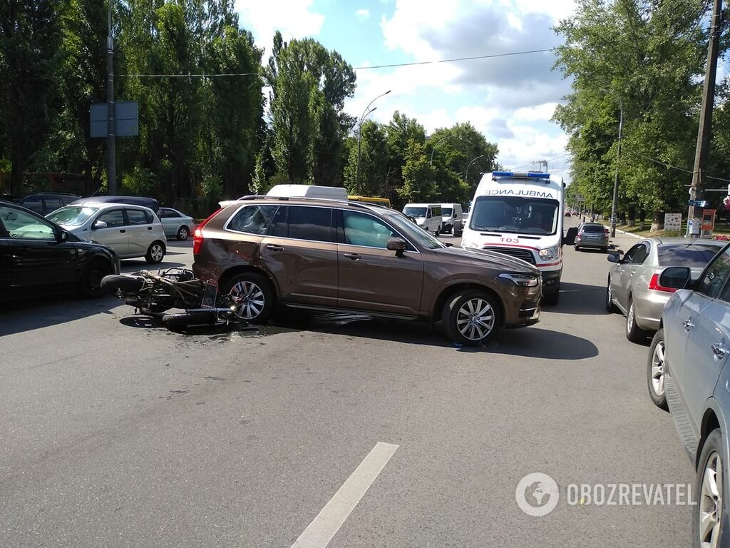 ДТП в Киеве