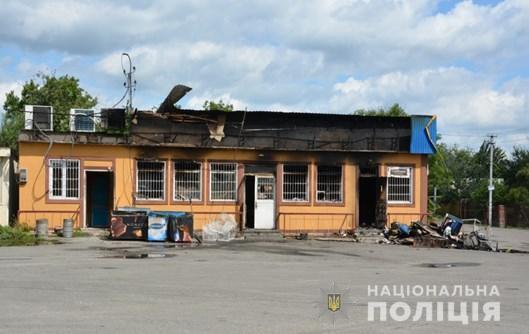 Під Києвом підпалили магазин депутата