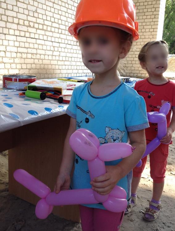 Даша и Маша. На этом снимке детям по 5 лет