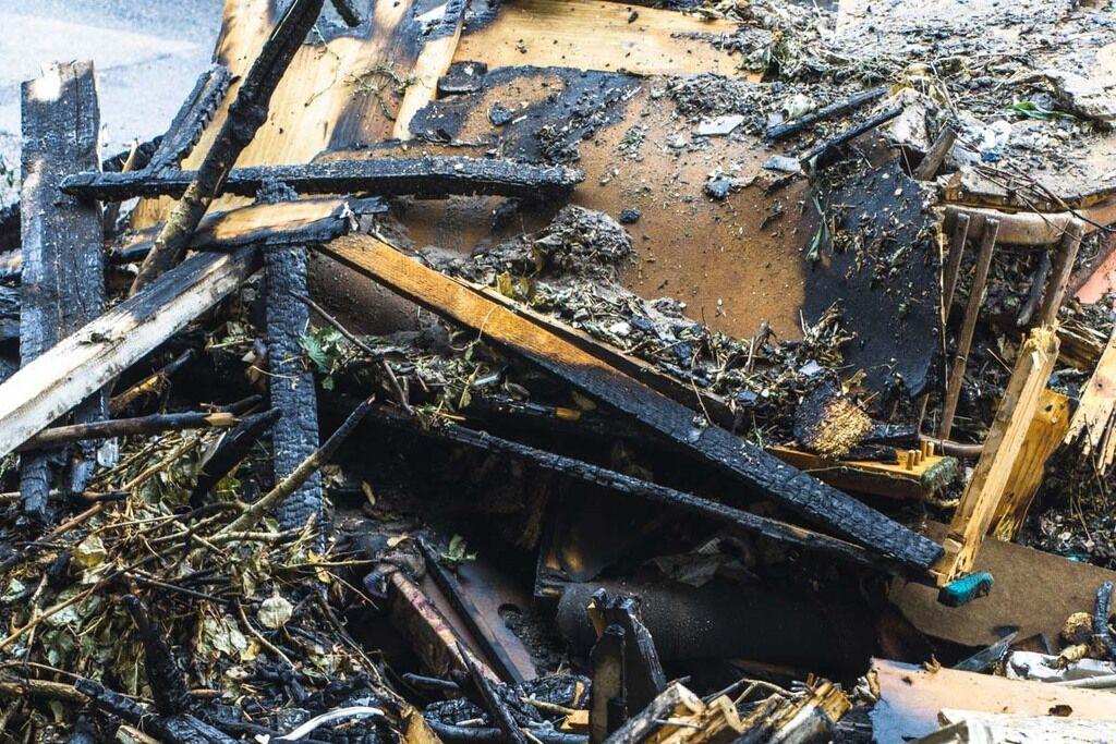 Рятувальники ліквідували загоряння