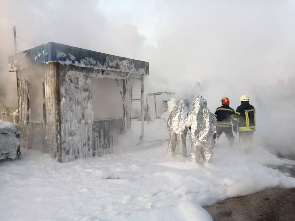 Пожежа в Тарасівці
