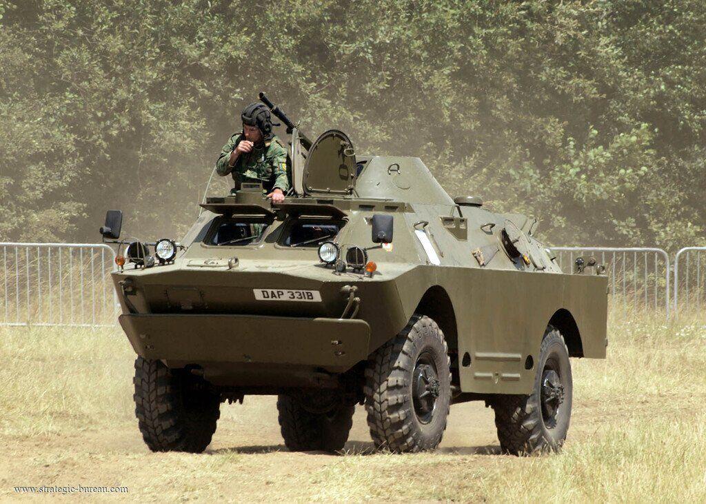 Россия доставила в Сербию 10 машин БРДМ-2 через Польшу, Словакию и Венгрию