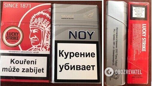 """Контрабандные сигареты в """"ДНР"""""""