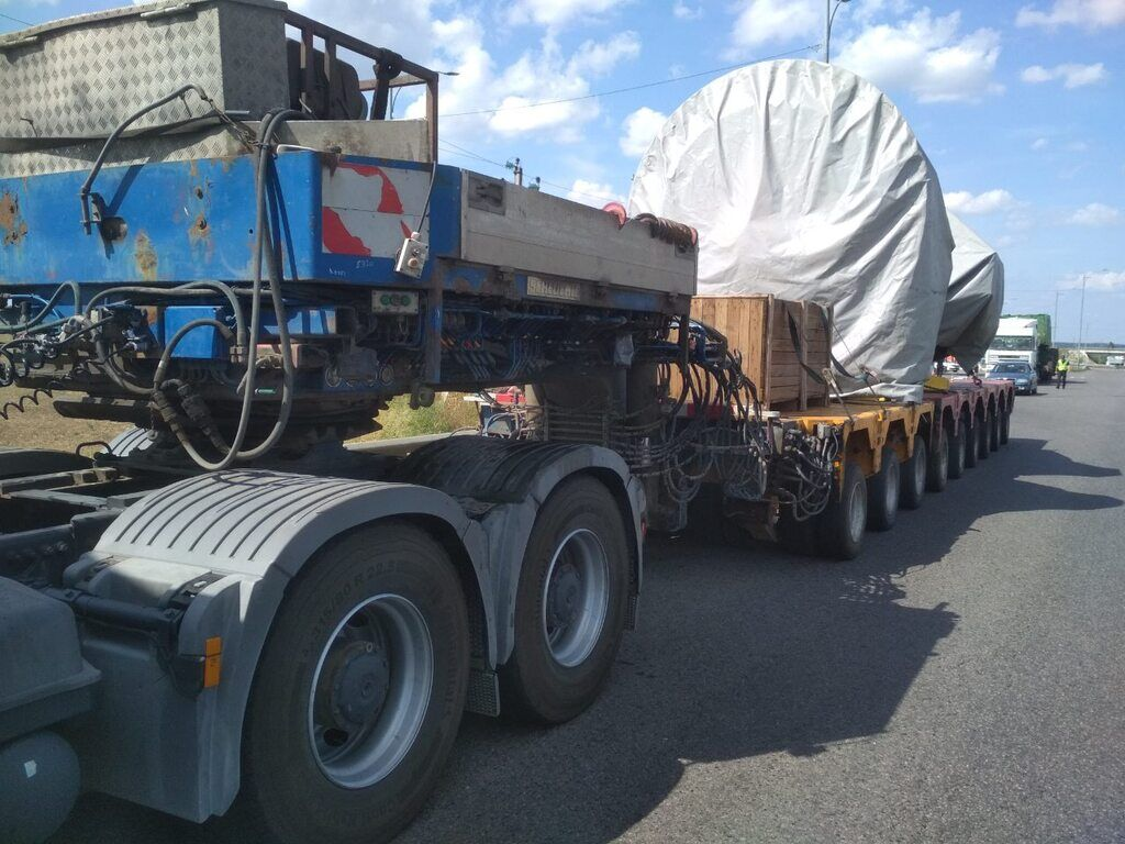 Перевищення вагових обмежень склало майже 40 тонн