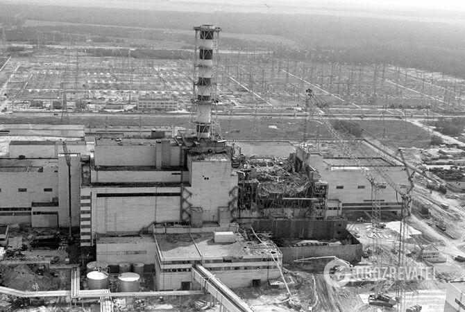 Зруйнований 4 реактор