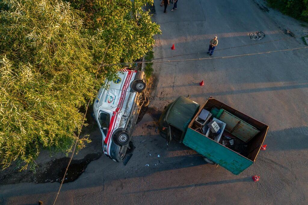ДТП спровокував водій вантажівки