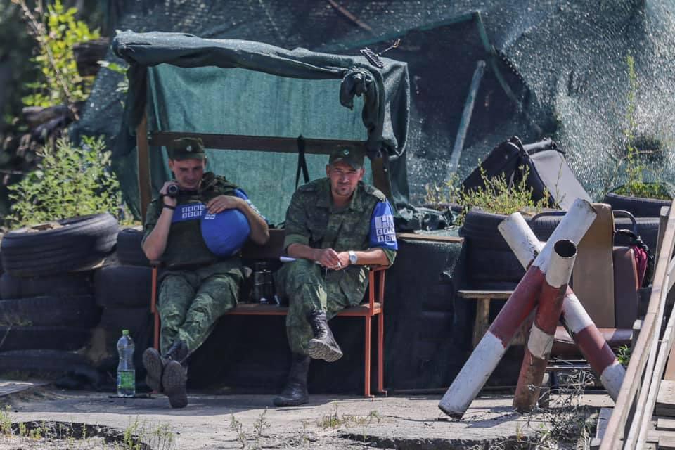 Терористи ЛНР під Станиці Луганській