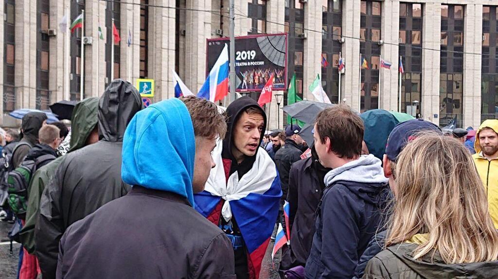Российский журналист и блогер Юрий Дудь