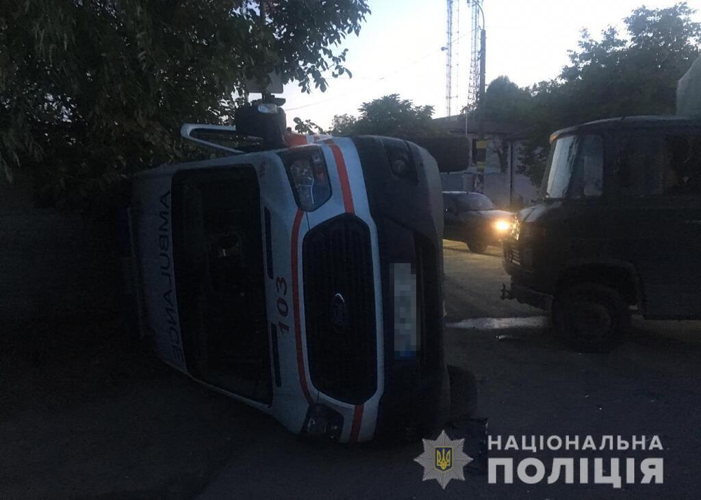 В аварії постраждали 5 осіб