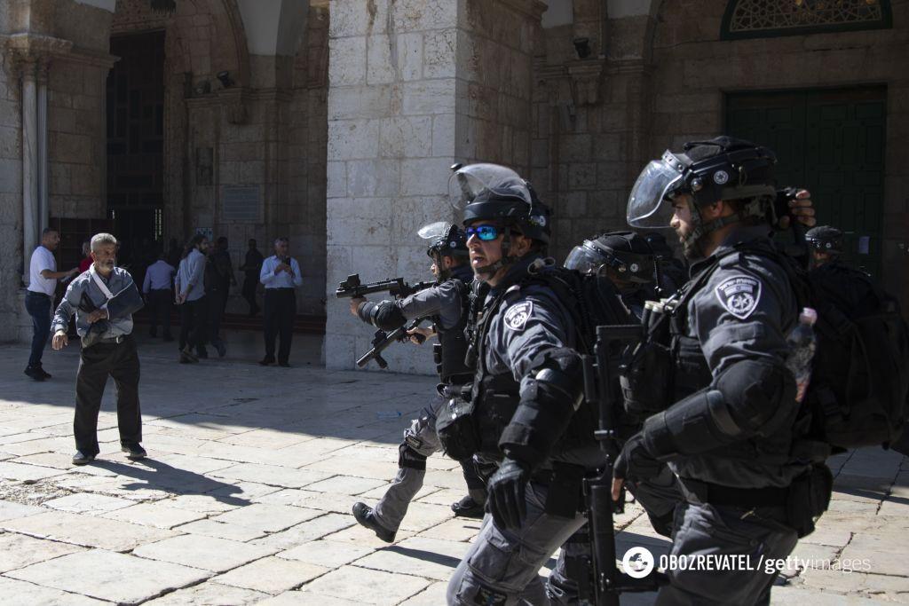 Зіткнення в Єрусалимі