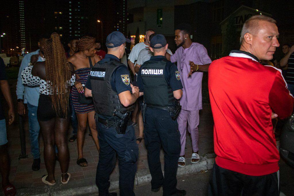 Поліція й іноземці