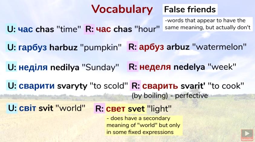 Блогер четко объяснил разницу между русским и украинским языками