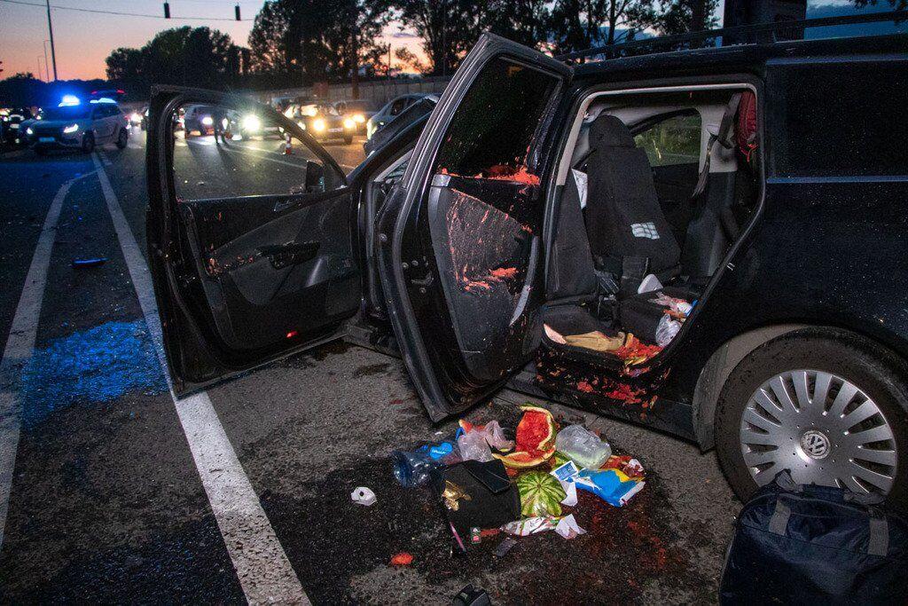 Аварія в Глевасі