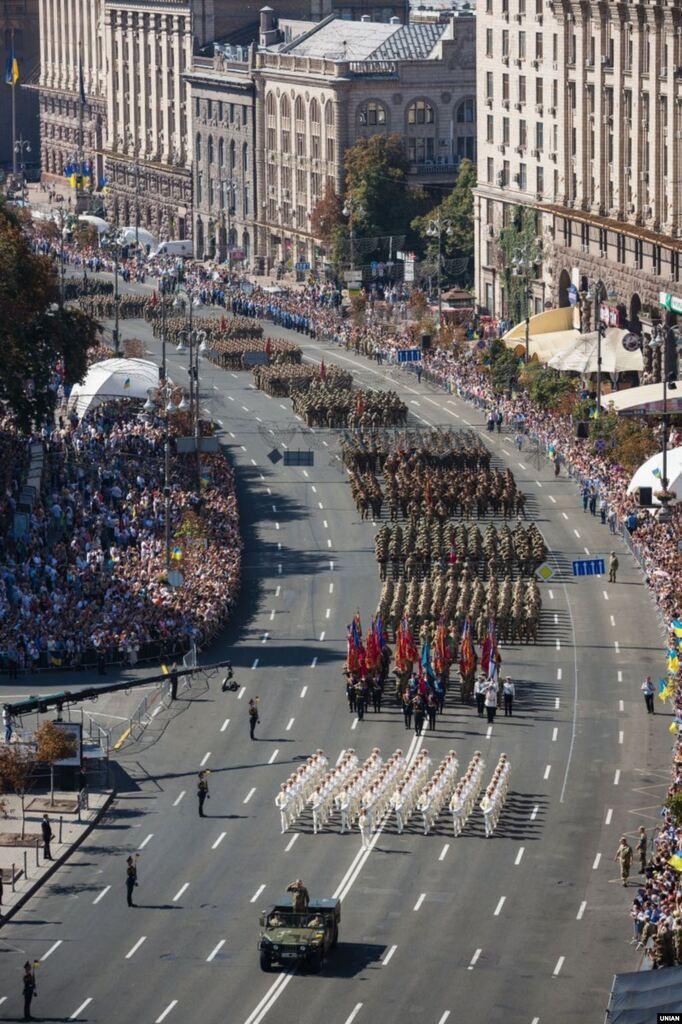 Парад на День Незалежності у 2015 році.