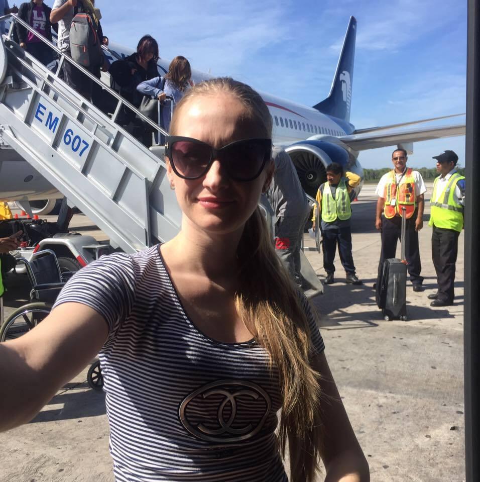 До Мексики Яна летіла за щастям