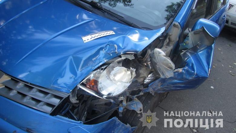 Викрадене та розбите авто