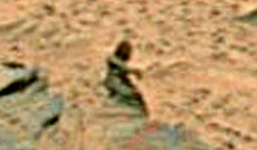 Силуэт инопланетной женщины