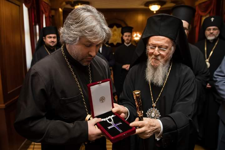 Протоиерей Александр Дедюхин, патриарх Варфоломей