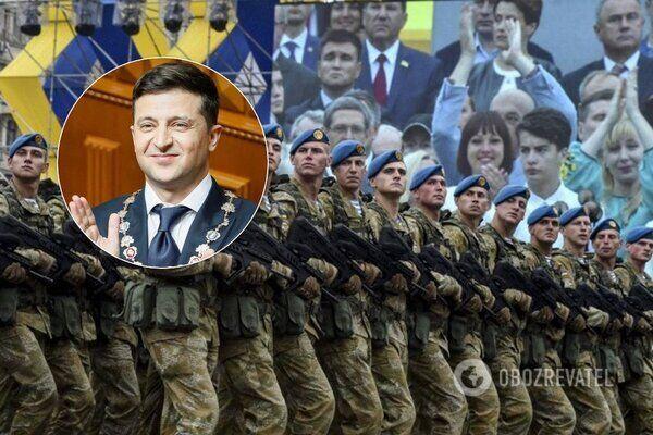 Зеленський відмовився від параду на День Незалежності