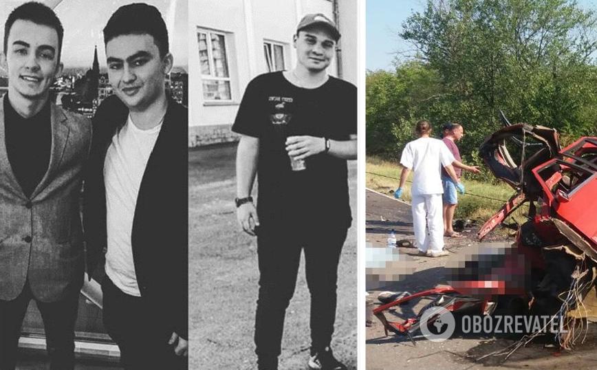 На місці загинули пасажири Fiat: Марк, Єгор і Олексій