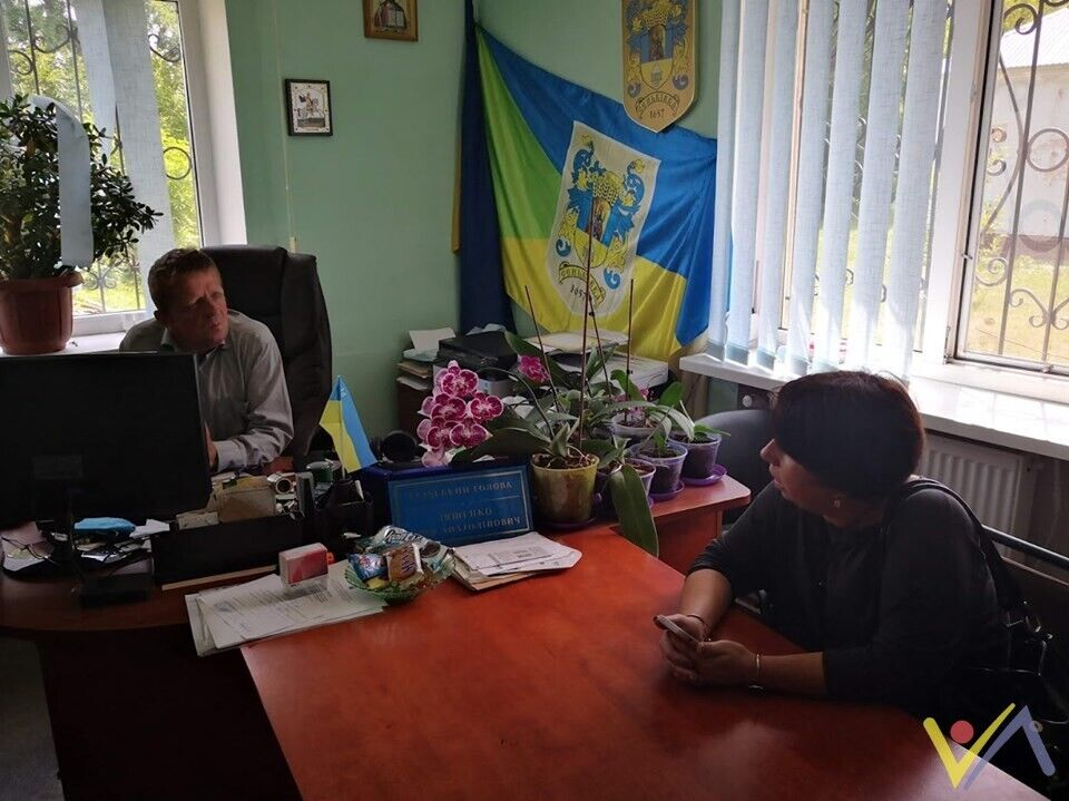 Сільський голова Юрій Ляшенко