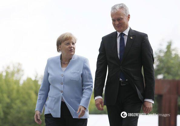 Меркель и Науседа