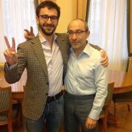 Даниил Привалов и Геннадий Кернес. Средний сын мэра Харькова взял фамилию своей матери