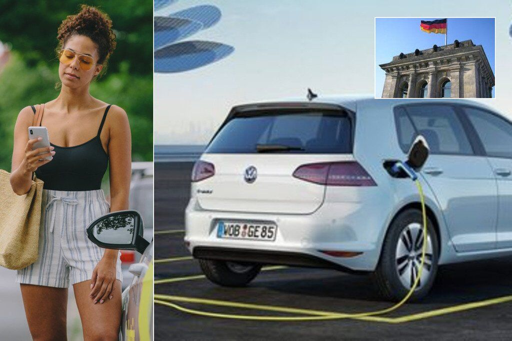 Volkswagen запустил в Берлине сервис каршеринга
