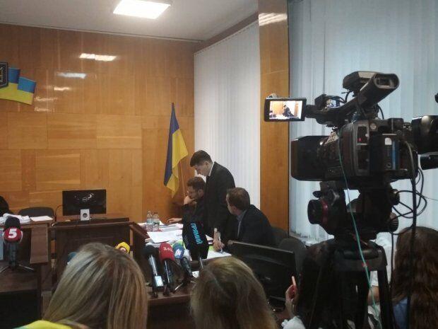 Засідання Деснянського районного суду Чернігова
