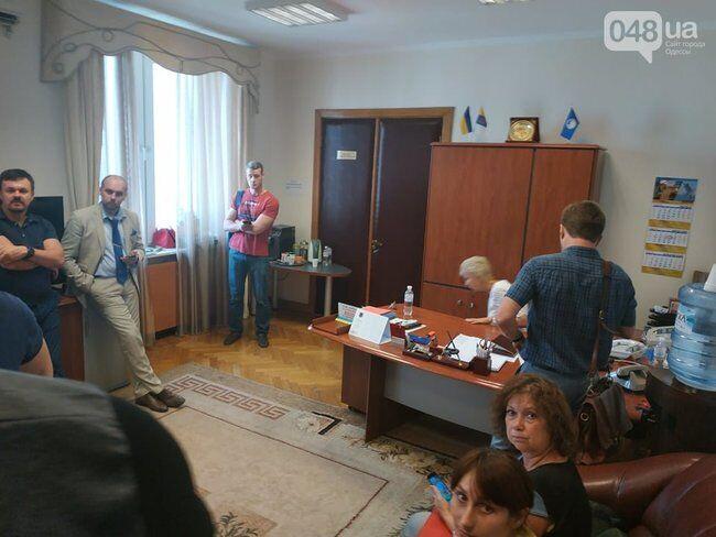 Обшук в Одеській облраді
