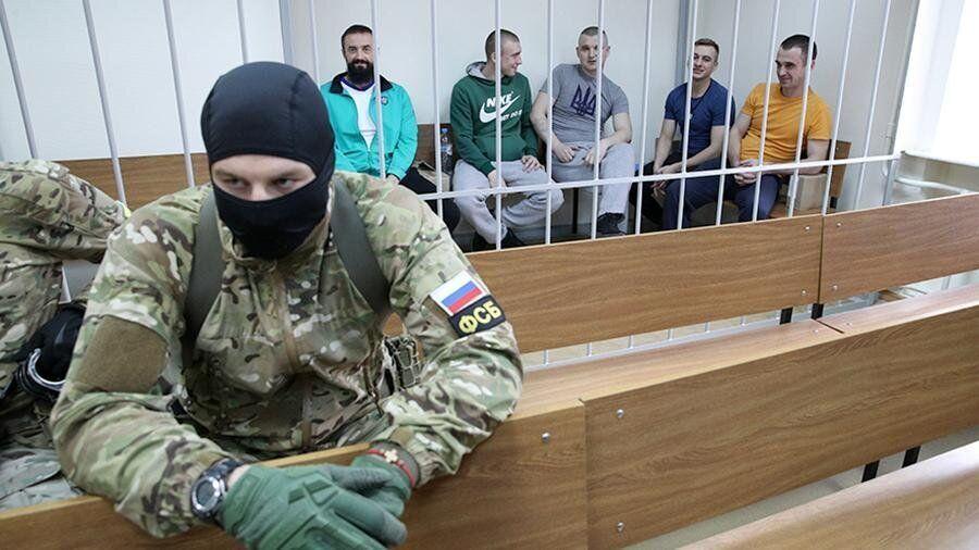 Українські моряки перебувають у полоні в Росії вже майже 9 місяців