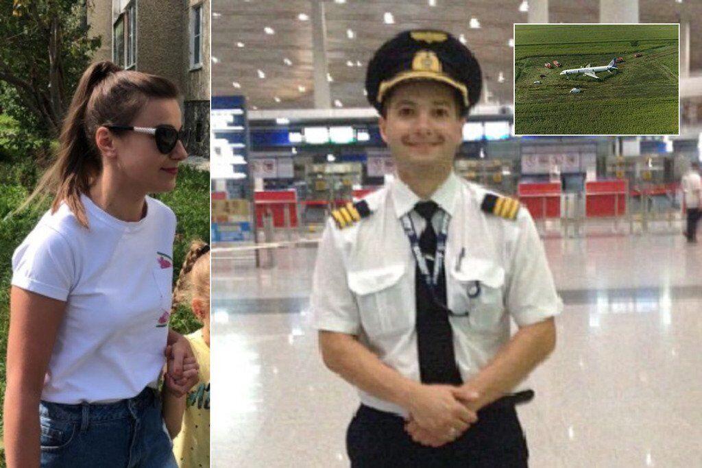 Пилот, спасший самолет в РФ, оказался героем любовной истории