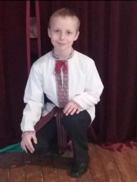 8-річний Богдан Босий