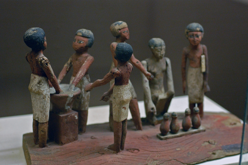 Виготовлення пива в Стародавньому Єгипті
