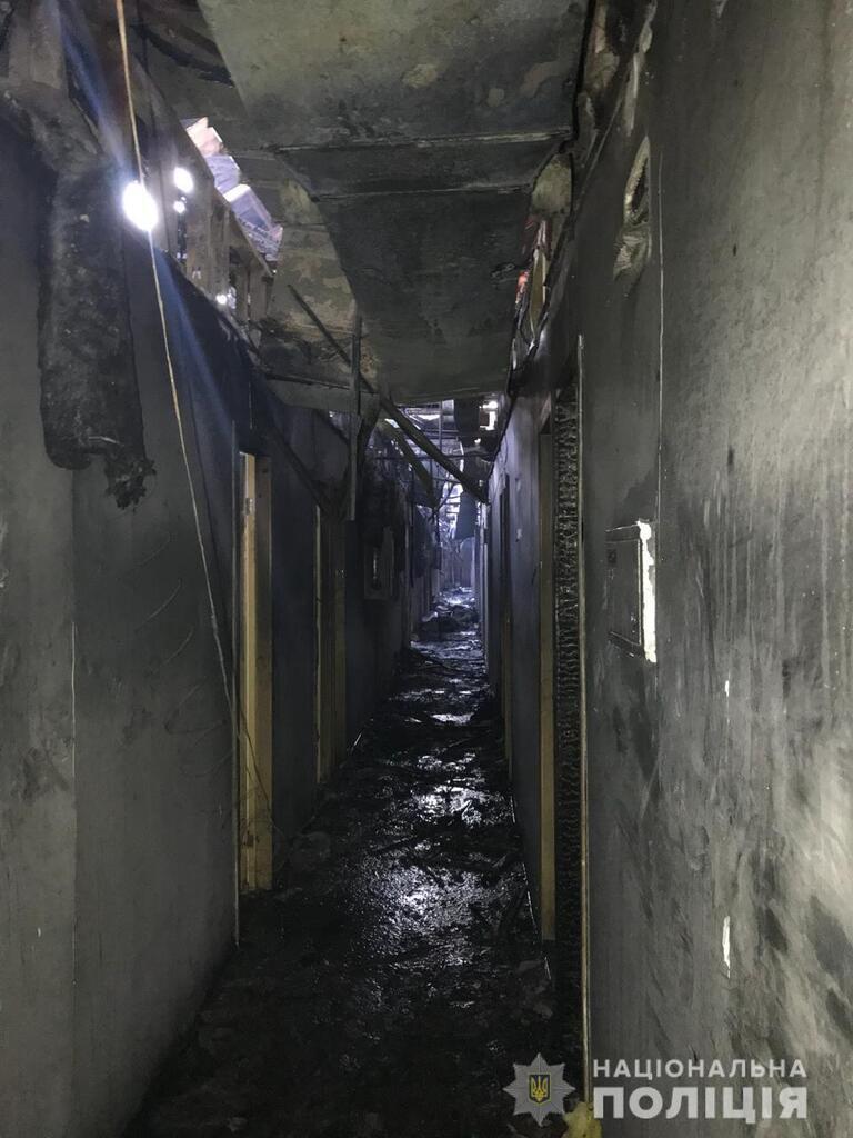 """Пожежа в """"Токіо Стар"""" в Одесі"""