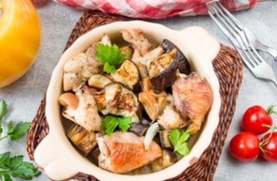 Рецепт очень вкусного блюда с баклажанами