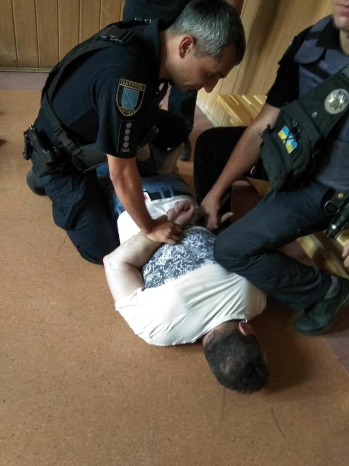 В Днепре за тройное ДТП задержали майора полиции