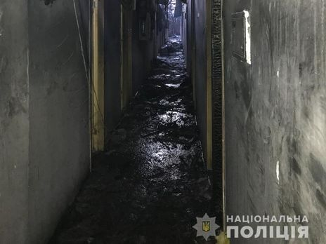 Так виглядає готель після пожежі