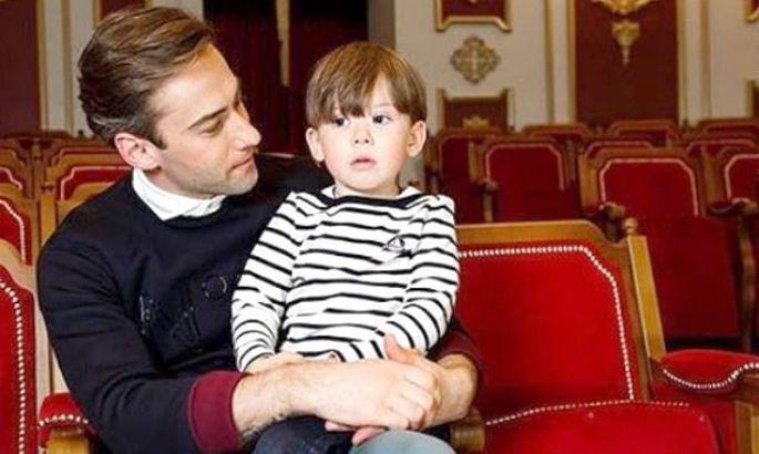 Дмитро Шепелєв із сином