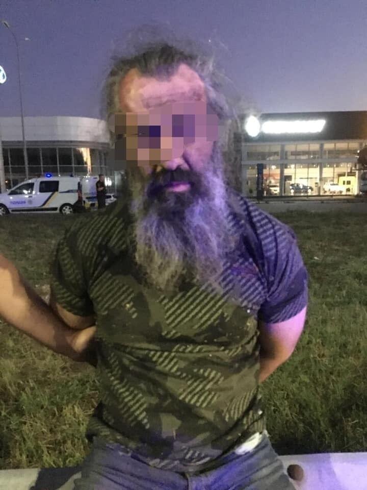 Задержанный за нападение злоумышленник