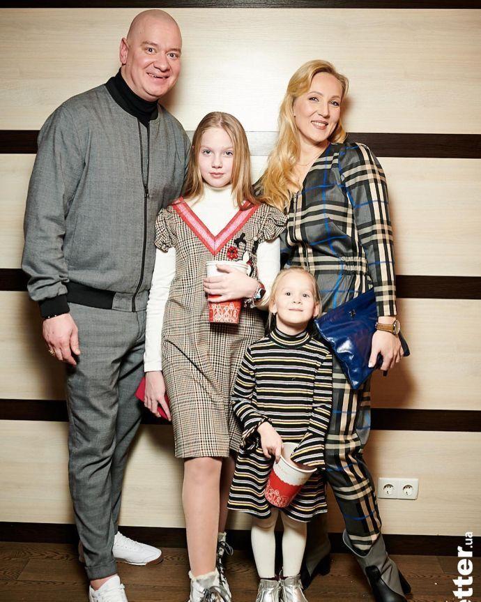 Варвара Кошова з сім'єю