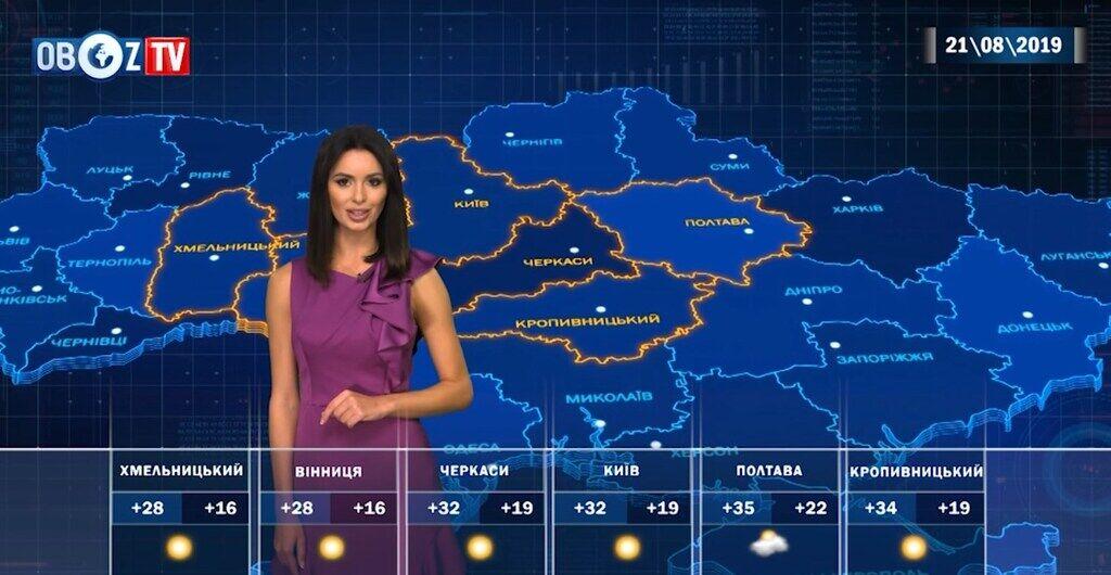 Жара в Украине усилится: прогноз погоды на 21 августа от ObozTV